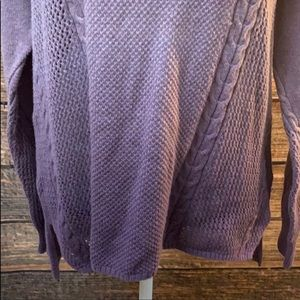 American Eagle Outfitters Sweaters - American Eagle Outfitters Purple Ombré Sweater